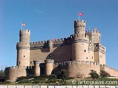 Castillo de Manzanares, España
