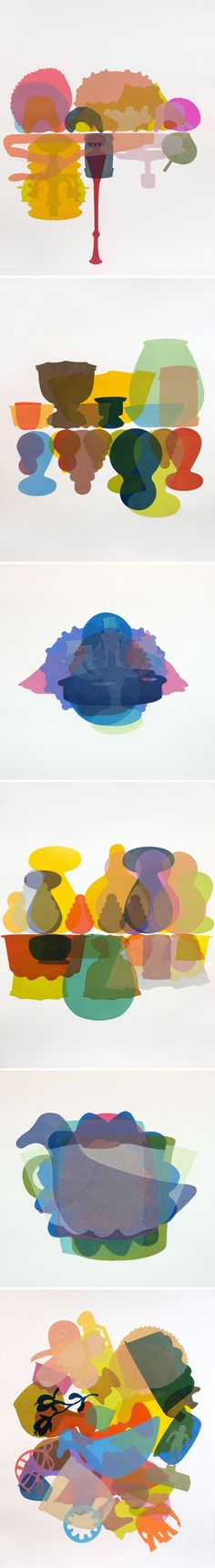 monoprints by laura berman