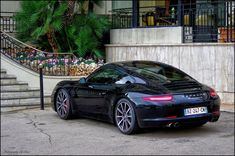 Porsche 911 (991) Black