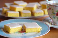 Sitronbrownies (Lemonies)