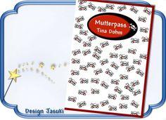 Mutterpass Skull von Jasuki auf DaWanda.com