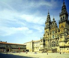 Tickets for two to the Santiago Cathedral's roof in Spain