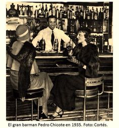 Bar Chicote 1935.