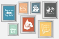 Funny Kitchen Print | Kitchen Art | Kitchen Decor | Kitchen Poster | I Like Big Cups | They See Me Rollin They Hatin | Whip It Real Good by ChampsyCreative on Etsy https://www.etsy.com/listing/472702545/funny-kitchen-print-kitchen-art-kitchen