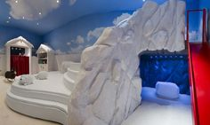 Quirky children's play area at Hotel Le Courchevel 1850 Courchevel 1850, Kids Play Area, Luxury Hotels, K2, 5 Star Hotels, Kids Playing, Palace, France, Travel