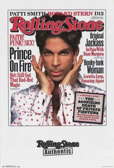A fantastic poster of Prince on the cover of Rolling Stone Magazine! A great way to remember this musical legend. Fully licensed - 2016. Ships fast. 22x34 inches. Check out the rest of our awesome sel