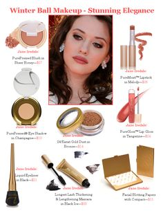 Jane Iredale makeup look - Stunning Elegance