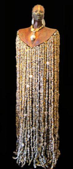 Woodrow Nash - Taumangoluka- Ceramic Sculpture life sized