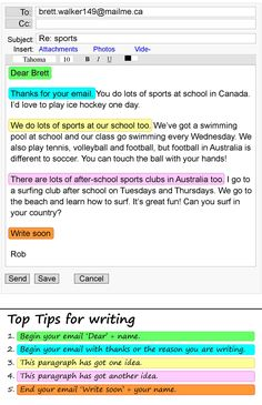 An email about sports | LearnEnglish Teens | British Council