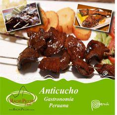 Anticuchos de corazón  - Gastronomía Peruana