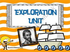 Explorers Unit with Informational Text, Activities, Plans and Prinables from Mrs O on TeachersNotebook.com (42 pages)  - This all inclusive unit has informational text and was created to learn about 7 explorers. I divided them up into two units of study.  Explorers 1- Leif Erickson, Christopher Columbus, Ferdinand Magellan  Explorers 2- John Cabot, Hernando DeSoto, Henry Hu $8.00