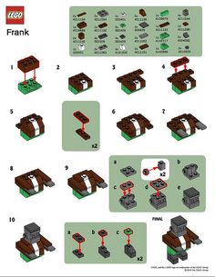LEGO MMMB - October '10 (Monster) Instructions by TooMuchDew, via Flickr