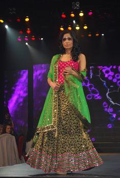 Satya Paul Fashion Show: TOIFA (Times of India Film Awards) 2013 Vancouver http://www.satyapaul.com/satyapaul/shop via Scarlet Bindi