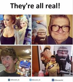 they should all be in a real life movie based on the Disney movie!!!.......whos with me!?