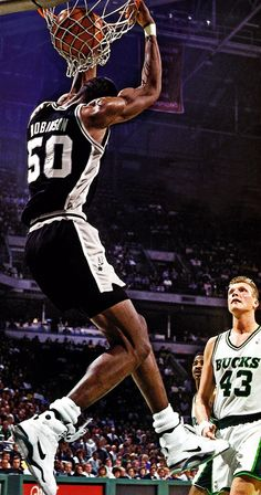 David Robinson - San Antonio Spurs nuts