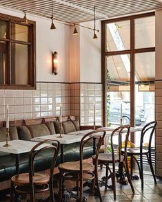 Hotel Sanders, a Boutique Hotel in Copenhagen - Retail Design Mag Boutique Interior Design, Restaurant Interior Design, Design Hotel, Interior Modern, American Interior, Open Hotel, Copenhagen Hotel, Copenhagen Denmark, Deco Restaurant