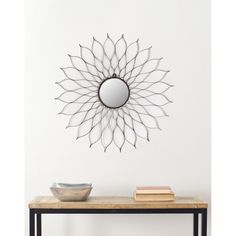Safavieh Handmade Arts and Crafts Flower Wall Mirror - Overstock Shopping - Great Deals on Safavieh Mirrors