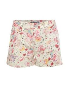 French Connection Stretch summer short White - House of Fraser