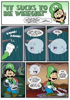 It sucks to be Weegie by Kevinbolk on DeviantArt. The gamecube's sales were not all that bad you know.