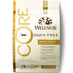 Wellness CORE Natural Grain Free Dry Indoor Cat Food, Chicken and Turkey, 12-Pound Bag > Trust me, this is great! Click the image. : Cat food