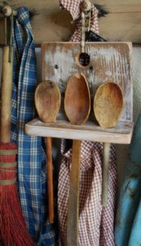 Primitive Country Furniture Decor