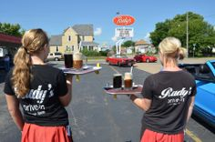 Don't miss Rudy's Drive In in La Crosse WI if you're traveling the WISCONSIN Great River Road | #WIGreatRiverRd La Crosse Wisconsin, Wonderland, Traveling, River, T Shirts For Women, Beauty, Viajes, Travel, Rivers