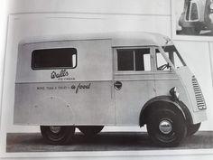 Walls Ice Cream, Food Vans, Step Van, Ice Cream Van, Vintage Ice Cream, Thing 1, Small Stuff, Commercial Vehicle, Camper Van