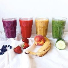Step Use your Fruit and Veg to make a really nice healthy smoothie and this is so easy to do. May sound horrid with Veg mixed with Fruit but try it out - it is really nice! Get Healthy, Healthy Eating, Healthy Recipes, Healthy Food, Happy Healthy, Fitness Lady, Juice Plus+, Snacks, Fitness Nutrition