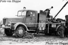 Büssing-NAG 4500 A Bilstein-Kran, Panzer Abteilung North Africa 1943 Thing 1, Axis Powers, Commercial Vehicle, North Africa, Military Vehicles, Ww2, World War, Germany, Trucks
