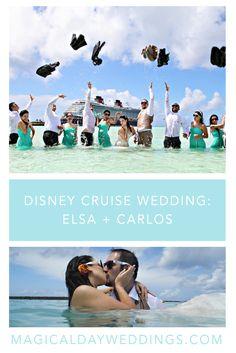 Disney Cruise Wedding- Elsa + Carlos