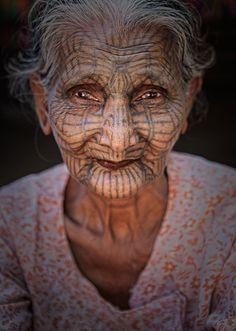Chin Woman (Mrauk-U) by Sonia Blanco