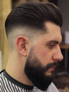 Heavy Crop Plus High Fade Hairstyle for Mens