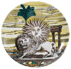 fornasetti lion and sun