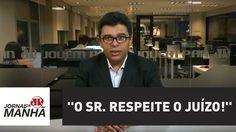 ''O sr. respeite o juízo!'', ordena Moro a advogado de Lula | Jornal da ...
