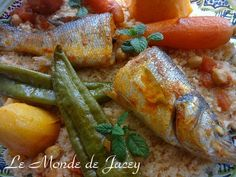 Cosucous mit Fisch. Für alle Fischfreunde kommt hier ein Couscous mit Wolfsbarsch. Zutaten für 4…