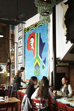 Madiba Restaurant, Fort Greene, Brooklyn - featured in the July/August 2011 issue of AFAR