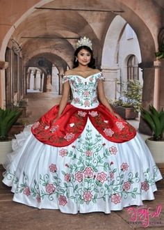 A charro quinceanera dress is the perfect way for you to celebrate your Mexican heritage. A charro quinceanera theme is a popular theme Mariachi Quinceanera Dress, Mexican Quinceanera Dresses, Quinceanera Themes, Quinceanera Planning, Quince Dresses Mexican, Charro Dresses, Vestido Charro, Mint Skirt, Embroidered Roses