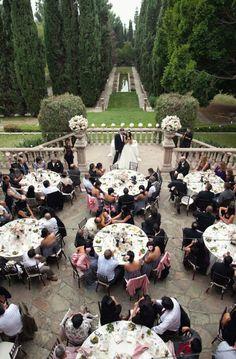 Villa del Sol d'Oro featured in @Style Me Pretty. Gorgeous venue, adding it to my 'one day down the road - venue list' :)
