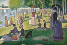 Georges Seurat – A Sunday on La Grande Jatte,