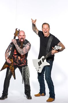James Hetfield - Metallica  / Kerry King - Slayer