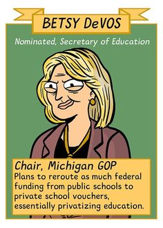 """Yup! She's part of a """"focus group"""" that REALLY wants to eliminate the public school system"""