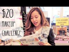 Michelle Phan #$20makeupchallenge her haul video for the challenge. it's all drugstore makeup!