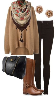"""Fall outfit"" by karen-de-nul on Polyvore"