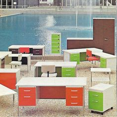 A look into the past, a vintage shot of the CARAY collection in 1970's. For nearly 70 years, CARAY offers furniture that improves your working conditions and your efficiency. #officefurniture #modern #design #vintage #caray