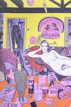 Prints Archives - The Whisper Gallery Grayson Perry Art, Gcse Art Sketchbook, Etching Prints, Bright Art, Popular Art, Erotic Art, Textile Art, Art Inspo, Illustrator
