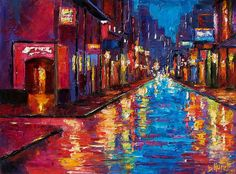 New Orleans Magic Painting