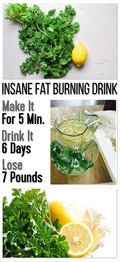 Insane Fat Burning Drink: Make It For 5 Minutes, Drink It 6 Days, Lose 7 Pounds