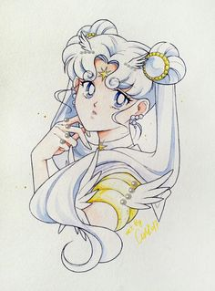 Sailor Cosmos. Credit to the artist.