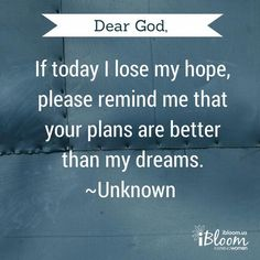 dear god if I lose my hope today  #HD #God #Quotes #Hope