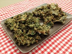 Sunflower Cheezy Kale Chips